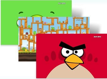 愤怒的小鸟、变形金刚3 Windows 7 官方主题下载